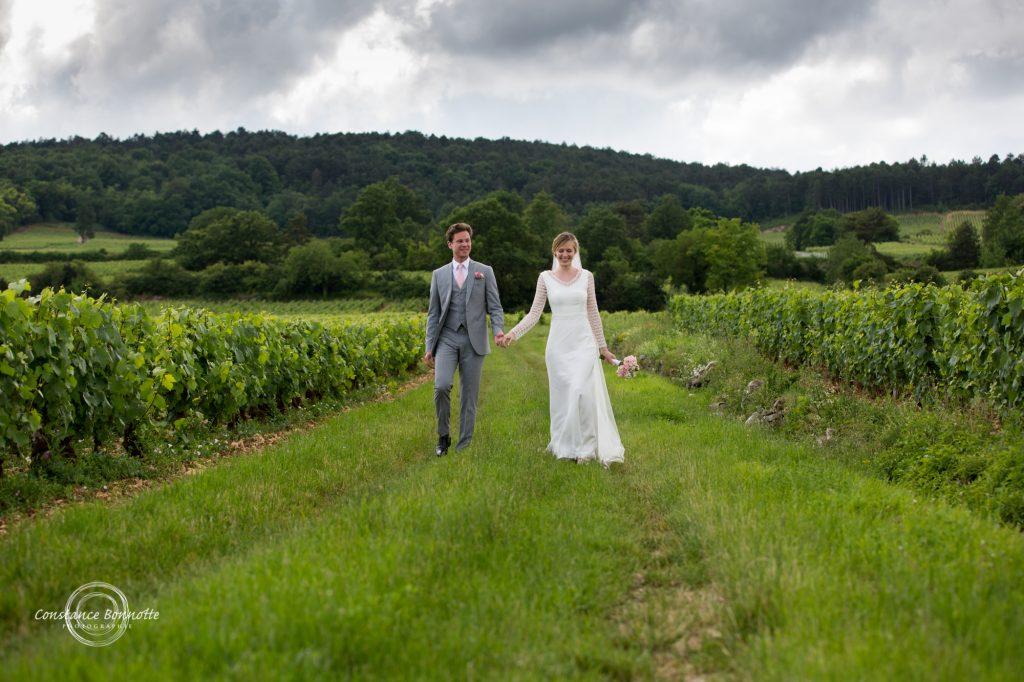 Photographe mariage Paris, Troyes, Sens, Beaune, château de Santenay