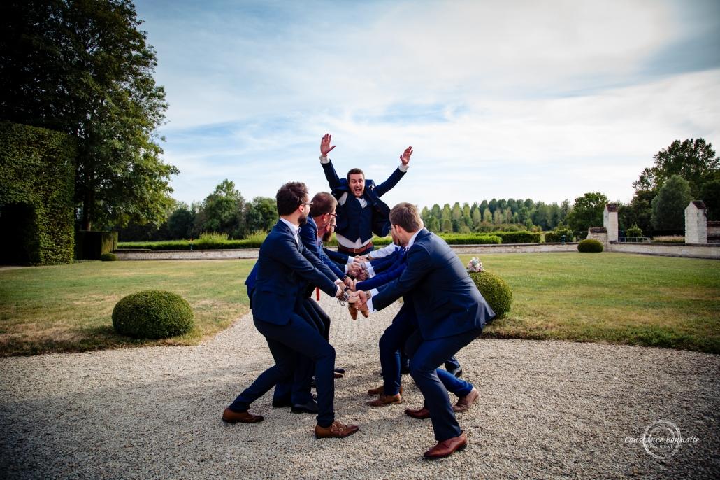 Constance Bonnotte Photographe Mariage Troyes saut du marié à Vermoise
